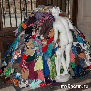 Традиционная дамская проблема: вещей куча, а одеть нечего