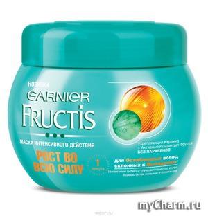 GARNIER / Маска для волос Fructis Маска интенсивного действия Рост во всю силу