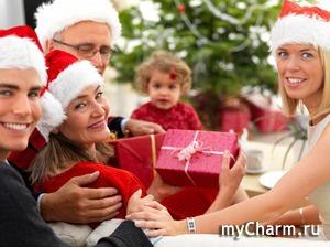 Новый год встретила с подарками от myCharm'а!