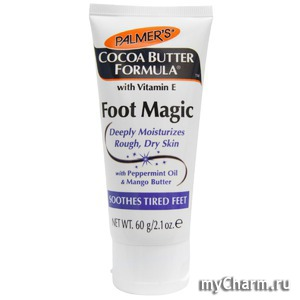 Palmer's / Крем для ног Cocoa Butter Formula, Foot Magic