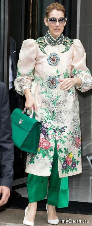 Модный образ Селин Дион - высокая мода или фрик-стайл?