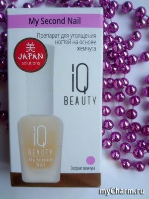 Препарат для утолщения ногтей IQ Beauty - просто поразил меня!