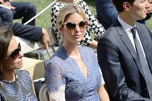Кружевное платье Иванки Трамп