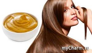 Мытье волос горчицей