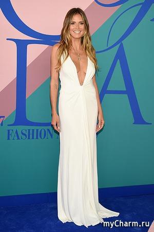 Хайди Клум показала грудь на «модном Оскаре»