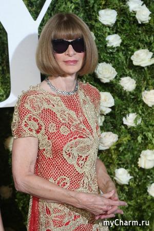 """Платья иконы стиля Анны Винтур и ее дочери назвали """"драными скатертями"""""""