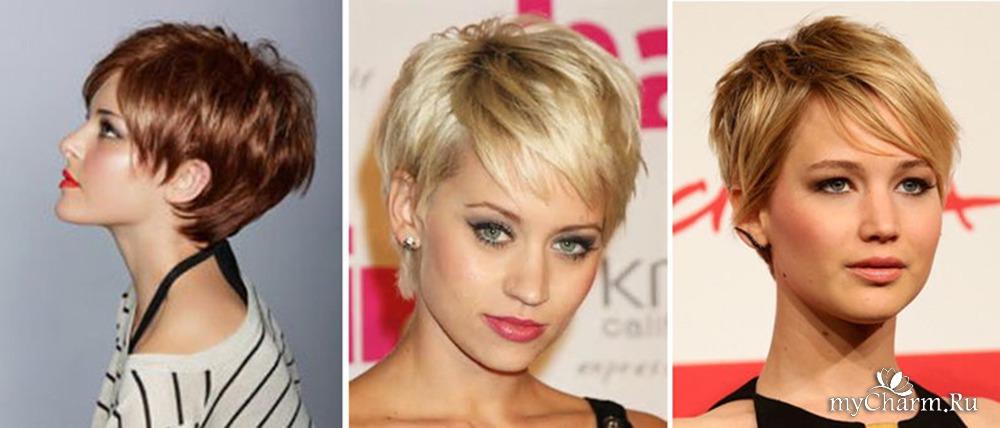 Короткие стрижки женские на тонкие редкие волосы без челки