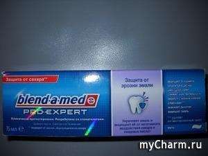 Очередная прекрасная зубная паста от Blend-a-med!