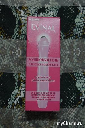 Достоинства плацентарной косметики: в роликовом геле для глаз Evinal