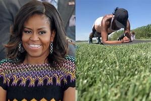 Мишель Обама устроила общественную тренировку