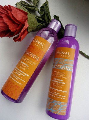 Плацентарная косметика Evinal служит на благо красоты волос