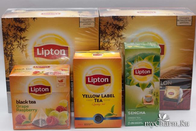 Чай липтон с подарками 462
