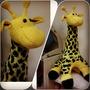 жираф вязаный на спицах.