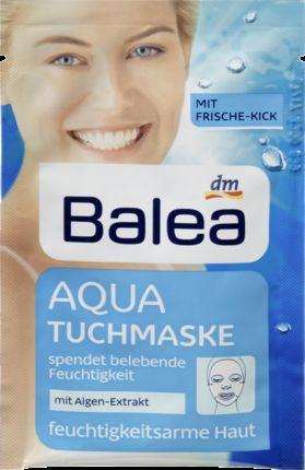 Balea / Маска для лица Aqua Tuchmaske