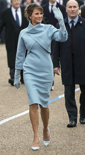 Наряды Меланьи Трамп: изысканность вопреки моде