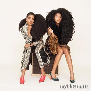 Невероятные волосы помогли близняшкам сделать карьеру