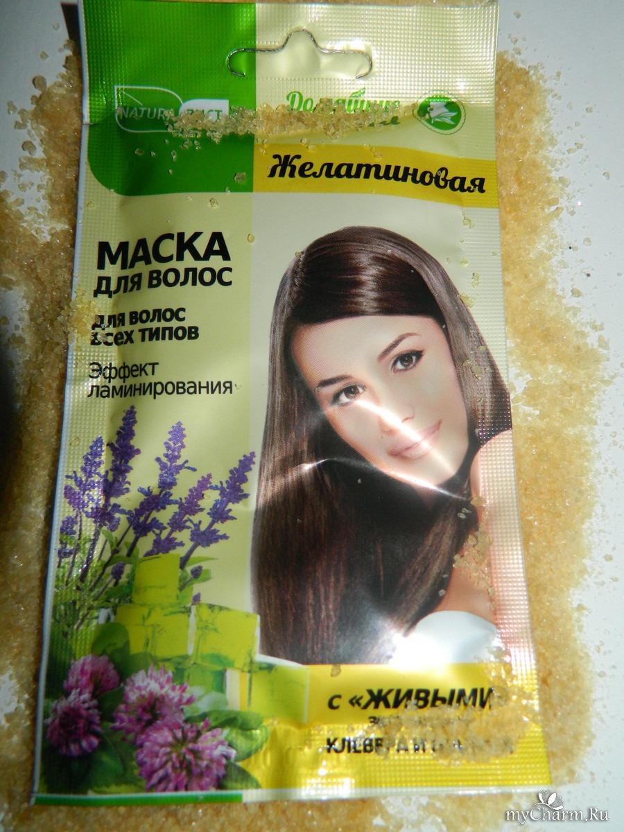 Желатиновые маски для волос в домашних условияхы