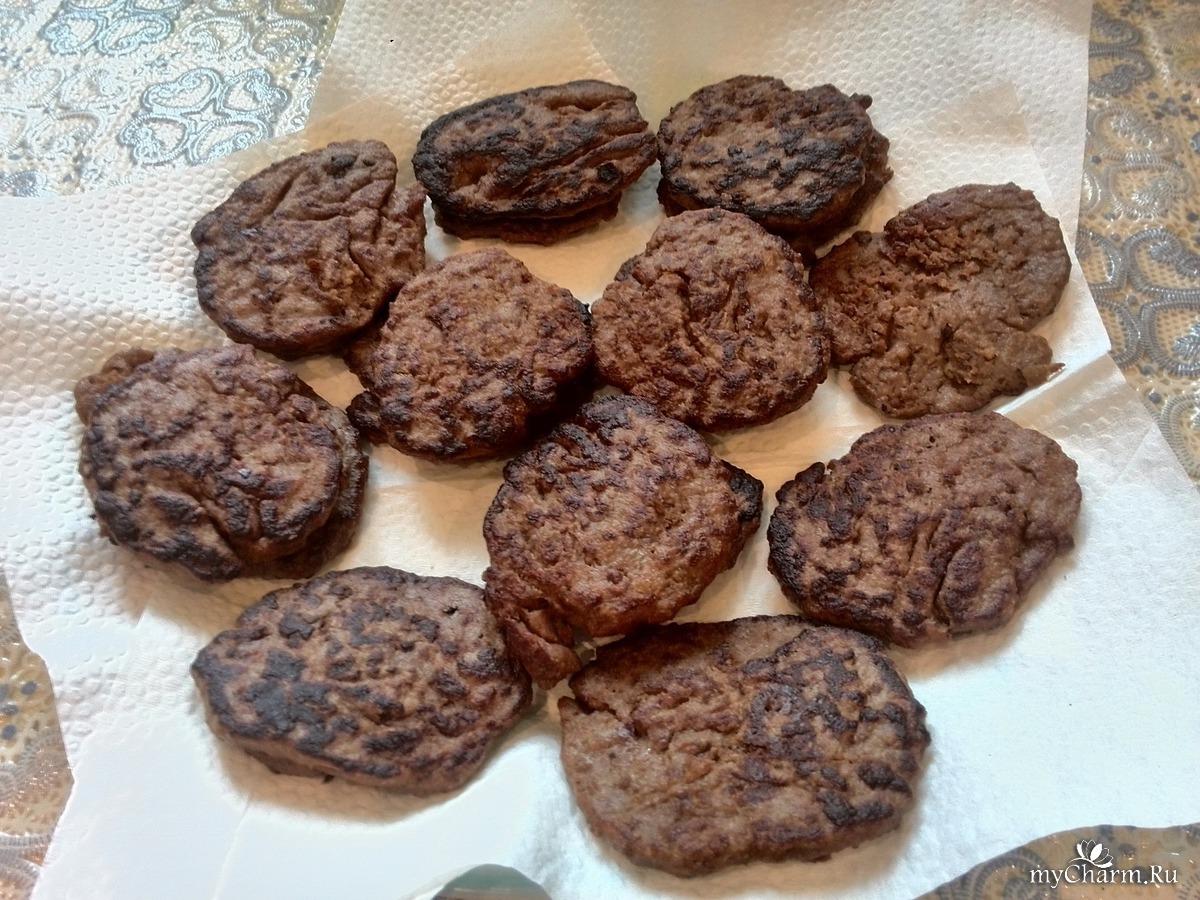 Оладьи из печени индейки рецепт