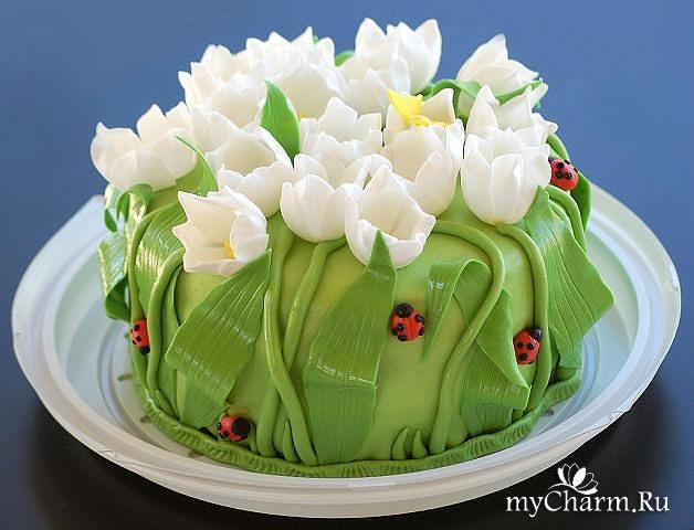 фото красивого торта на день рождение