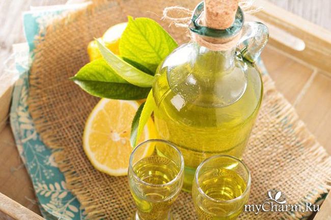 Лимонная настойка на спирту в домашних