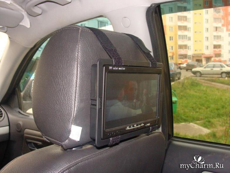 Монитор для машины своими руками 880
