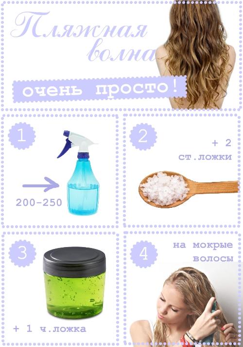 Пляжная волна на волосах: делаем сами: Группа Секреты красоты