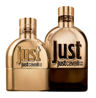 New fragrances Roberto Cavalli Just Gold
