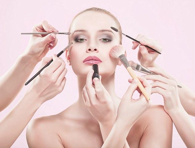 Makeup testing on animals