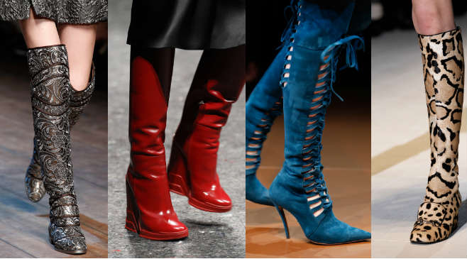 Картинки модной обуви на зиму