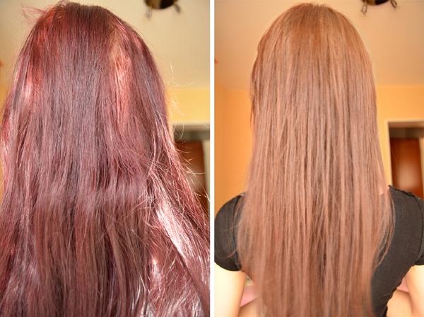 Волосы после оттеночного шампуня фото