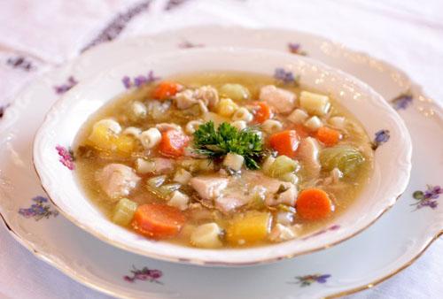 сжигающий жир суп из сельдерея