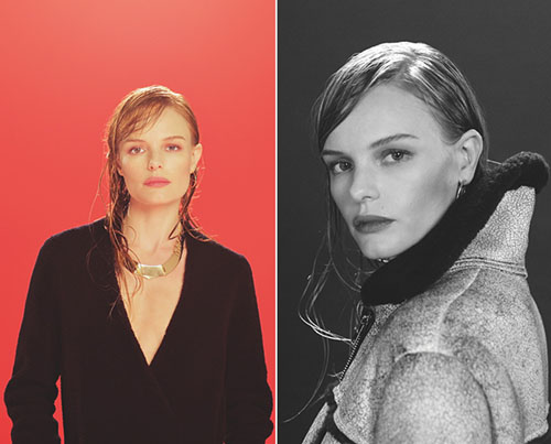 Kate Bosworth launched its clothing collection for Topshop