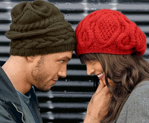 Вязания красивых шапок и беретов