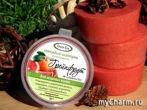 Green Era / Твердый шампунь Грейпфрут для жирных волос