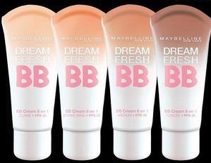 """Maybelline / ВВ-крем Dream Fresh BB-крем """"Мгновенное сияние"""""""