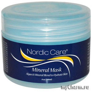 Nordic Care / Маска для лица Mineral Mask Algae & Mineral Blend to Hydrate Skin