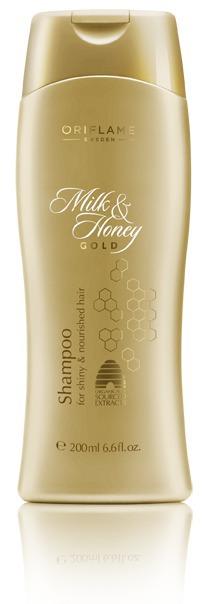 Oriflame / Шампунь Milk & Honey Gold