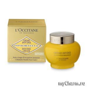 L'Occitane / Крем от морщин с гиалуроновой кислотой Creme Divine Ultimate Youth Face Care