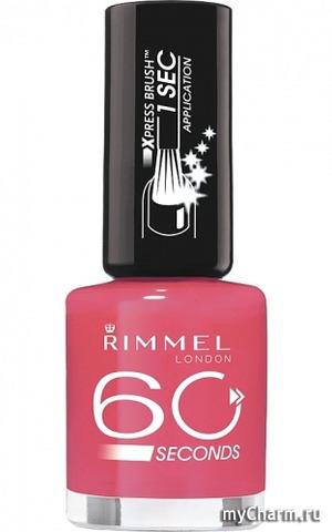 Rimmel / Лак для ногтей 60 Seconds