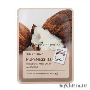 Tony Moly / Тканевая маска Pureness 100 Shea Butter Mask Sheet