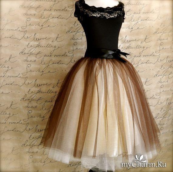 Впадаю в детство: Любовь к тюлевым юбкам!