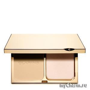 Clarins / Крем-пудра Teint Compact Haute Tenue SPF 15 Everlasting Compact Foundation