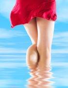 Как бороться с капиллярной сеточкой на лице и ногах?