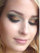 Макияж How To: Зеленые тени для век (+ пошаговые фото)