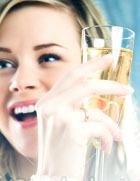 Самая новогодняя диета: Худеем на шампанском!