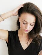 Волосы средней длины: образ «День – Ночь».