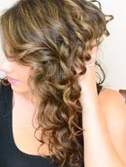 Волосы: делаем пляжную волну