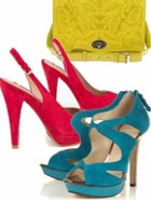 Лето-2011: тренд – разноцветные туфли и сумка
