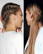 Асимметричная коса Джессики Альба (+ пошаговые фото)