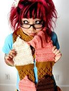 «Съедобные» шарфы Твинки Чан